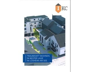 Traumhaft Wohnen in Bester Lage in Losheim am See - EG-Wohnung 3 ZKB -109m² - Balkon - Aufzug !!