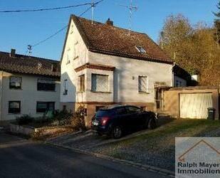 RESERVIERT ... Nähe GLOBUS: günsiges EFH mit Garage und kleinem Garten im Stadtteil Weierbach - Idar-Oberstein